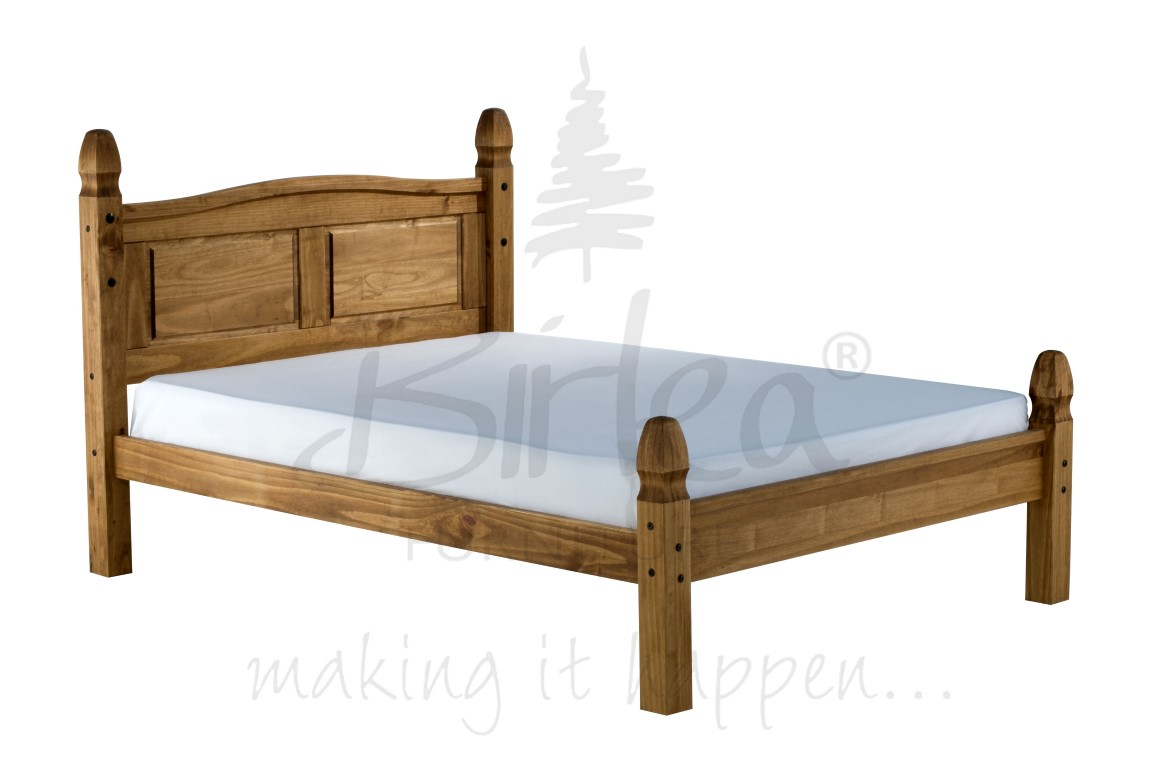 Birlea Corona Bed Frame Low Foot End