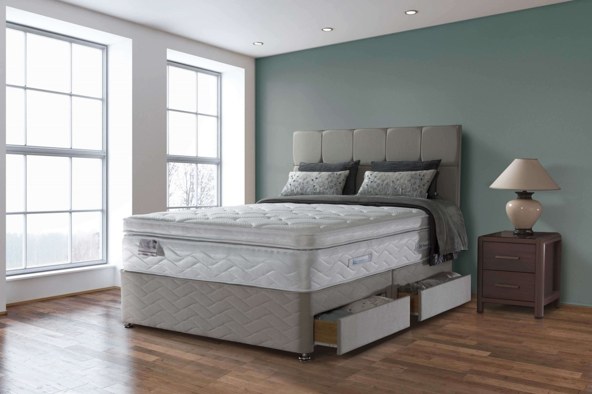 Sealy pocket palatine 2500 divan bed for Divan direct